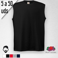 Camiseta SIN MANGAS Hombre, 5 a 50 Uds.