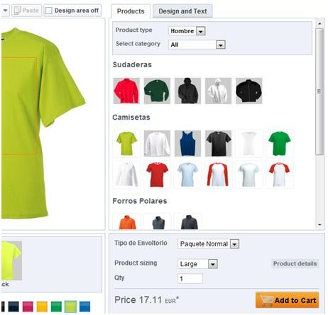 Dise ar chaquetas online for Disena tu comedor online