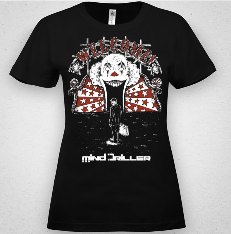 camisetas serigrafia mind driller