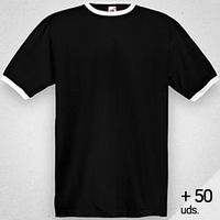 Camiseta RINGER Hombre +50 Uds. Thumbnail