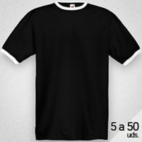 Camiseta RINGER Hombre, 5 a 50 Uds. Thumbnail