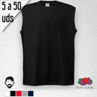 Camiseta SIN MANGAS Hombre, 5 a 50 Uds. Thumbnail