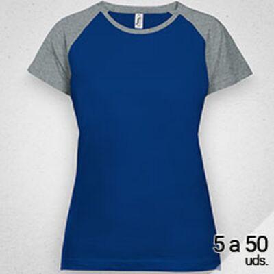 Camiseta ECONOMICA Mujer Camiseta imedia
