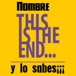 This is the end Design