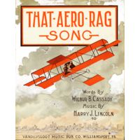 That Aero Rag Song Caratula de partitura 1912 Thumbnail