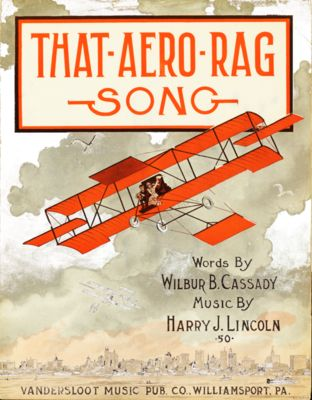 That Aero Rag Song Caratula de partitura 1912